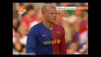 24.07.08 Хибърниан - Барселона 0:6 0:3 Гуди