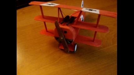 Ръчно направен макет на Fokker Dr. I