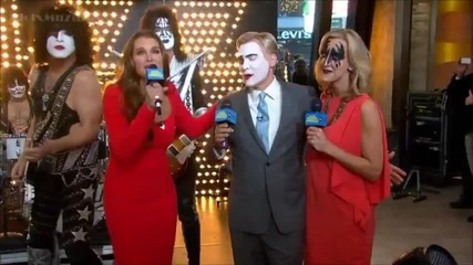 Kiss - Hell Or Hallelujah - Live at Good Morning America 2012 (hd)