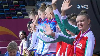 България с бронз на световното по художествена гимнастика