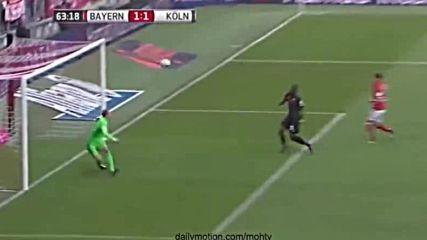 Байерн Мюнхен 1 - 1 Кьолн ( 01/10/2016 )