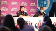 Пресконференция на Justin Bieber за Q100 23.12.2010