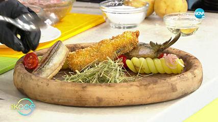 """Рецептата днес: Сладък габровски суджук и риба с картофена салата """"а ла Светла"""""""