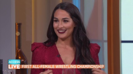 Nikki Bella is ready for the challenge of Ronda Rousey at WWE Evolution