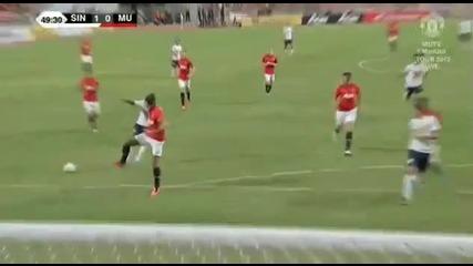 13.07 Звездите на Тайланд - Манчестър Юнайтед 1:0