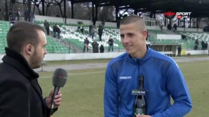 Мартин Минчев: Играхме нашата си игра и така победихме