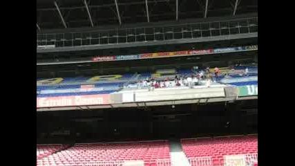 Camp Nou - Изглед От Терена