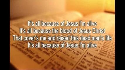 All because of Jesus - Casting Crowns (lyrics)
