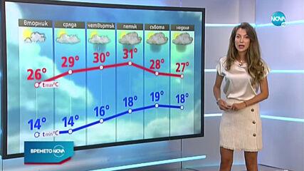 Прогноза за времето (13.07.2020 - централна емисия)
