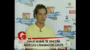 David Bisbal Entrevista 15 August 2008