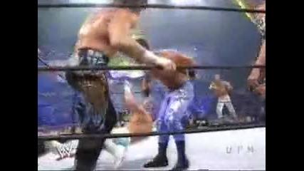 Smack Down! - Rey Misterio & John Cena & Edge vs. Eddie Guerrero & Kurt Angle & Chris Benoit