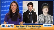 Joe Jonas Sheds A Tear For Justin Bieber