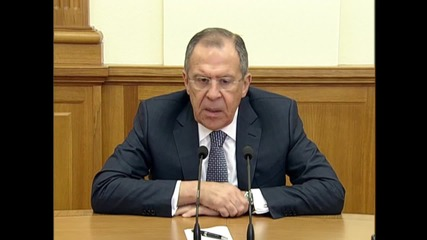 Russia: Calls for Assad's resignation 'indirectly' contributes to IS expansion - Lavrov