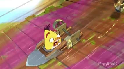 Стартов трейлър на Angry Birds Go!