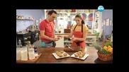 Пилешка салата , копривени мъфини, кошнички с крем - Бон Апети (22.05.2013)