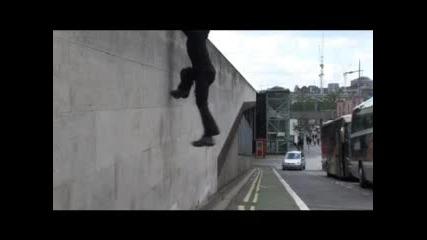 Parkour Wall Run