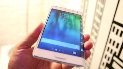 Премиера на Samsung Galaxy Note Edge с извит дисплей