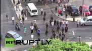 Lebanon: Beirut protesters burn tyres in demo against soldier's death