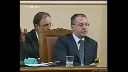 Господари на ефира - Сергей Станишев Псува