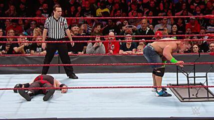 John Cena vs. Kane - No Disqualification Match: Raw, March 26, 2018 (Full Match)
