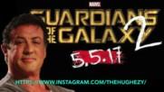 Легендата Силвестър Сталоун с мистериозна роля във филма Пазители на Галактиката 2 (2017)