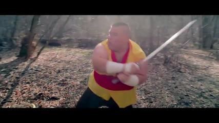 Fruit Ninja- В реалния живот. Смях!