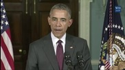 """USA: Russian intervention in Syria """"reinforced the Assad regime"""" says Obama"""