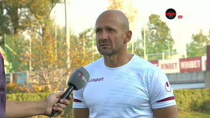 Милен Радуканов: Победата ме радва, но характерът на играчите повече