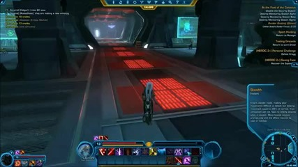 Star Wars The Old Republic Sith Assassin questing