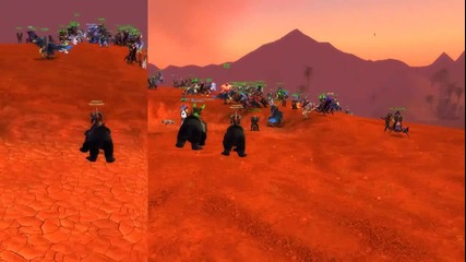 Lastwow Orgrimar raid 100vs100