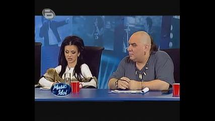 Music Idol 3 - Кастинг В София 09.03.2009 Да Ти Честитя Ли!(rolf)
