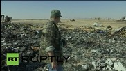Egypt: Investigators recover personal belongings from crash site