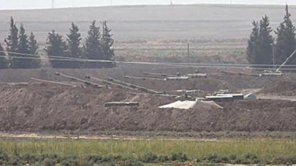 Турция: Армията се разполага на границата със Сирия