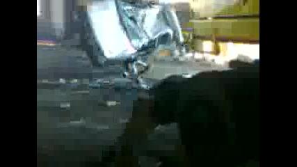 Видео отиде на боряна колата