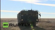 Russia: Iskander launches ballistic missile during live-fire drills