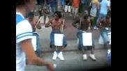 Улични барабанисти от Чикаго