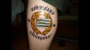 Футболни Татуировки