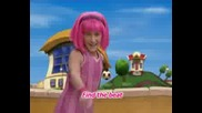 Lazytown - No Ones Lazy In Lazy Town [karaoke]