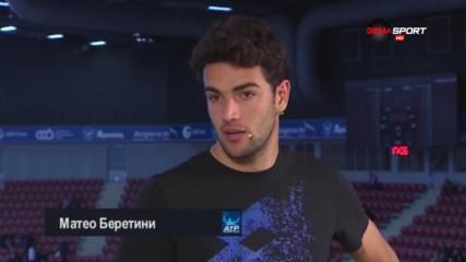 Сензацията на Sofia Open Беретини: Забавлявам се истински в София