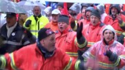Belgium: 15,000 steelworkers march to demand protection against Chinese steel dumping