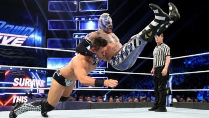 Rey Mysterio vs. The Miz: SmackDown LIVE, Nov. 13, 2018