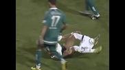 Футболист сваля гащите на звездата на Сантош Неимар