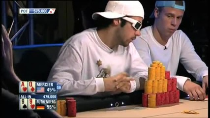 Ept 5 Barcelona Ruthenberg vs Mercier