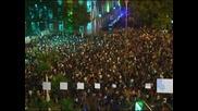 Хиляди испанци протестираха пред парламента в Мадрид срещу бюджетните икономии