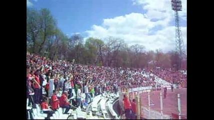 Ц С К А 4 - 1 Черно море (22.04.2012) - Победен марш !