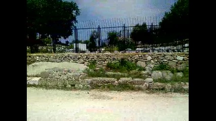 Сиде, Турция, остатъци от Римски крепости