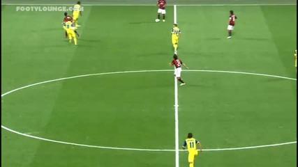 Вижте изявите на Роналдиньо срещу Киево (видео)