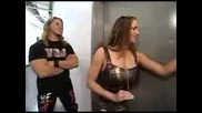 Y2j Chris Jericho & Steph Mcmahon Funny