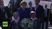 Turkey: Merkel arrives in Antalya for G20 summit