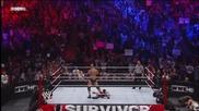 Скалата и Сина срещу Миз и Трут - Wwe Survivor Series 2011 - част 3/3